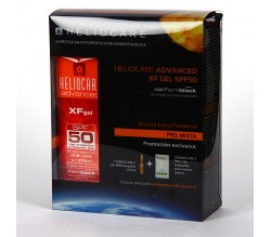 Heliocare Pack Advanced SPF50+ XF gel 50ml + Endocare-C 7amp + Endocare-C Peel gel 3 ud 6 ml