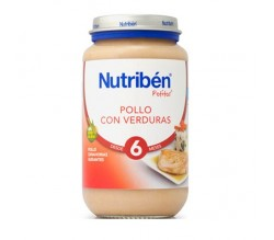 nutriben junior pollo con verduras 200gr