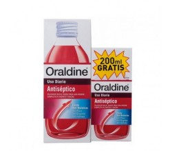 ORALDINE ANTISEPTICO PACK 400ML +200 ML