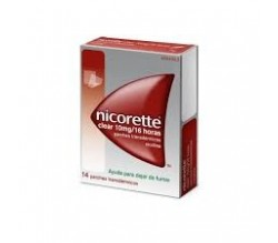 NICORETTE CLEAR (10 MG/16 H 14 PARCHES TRANSDERMICOS 15.75 MG )