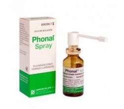 PHONAL SPRAY (AEROSOL TOPICO SOLUCION 20 ML )
