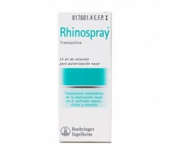 RHINOSPRAY (1.18 MG/ML NEBULIZADOR NASAL 12 ML )